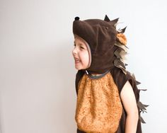 Hedgehog Costume Party Porcupine Costume in by BeauMiracleForYou
