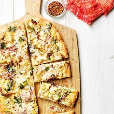 Roasted Cauliflower Pizza