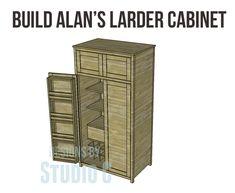 Build Alan's Larder Cabinet