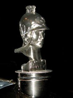 Minerva Hood Ornament***Research for possible future project.