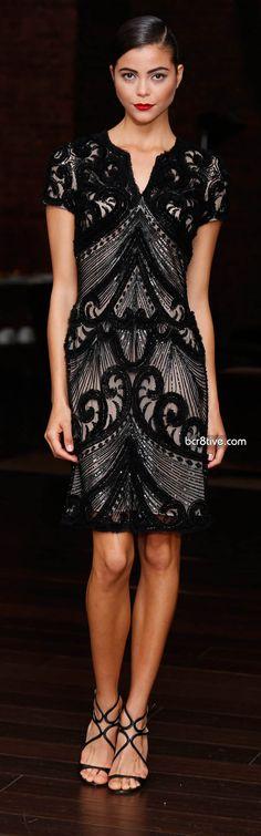 runway fashion, naeem khan resort 2014, elegant dresses, celebrity dresses, cocktail dresses, dress shoes, art deco, lace dresses, short dresses