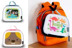 Seriously cute personalized lunch boxes...with photos!