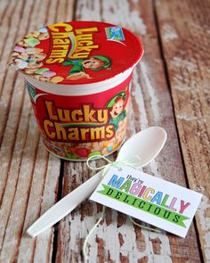 Magically Delicious - St. Patrick's Day Tags