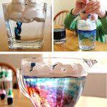 Kitchen Science: Making Rain Clouds