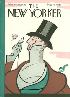 Eustace Tilley appeared on the cover of our first issue in 1925, and has returned, in one guise or another, for nearly every anniversary issue ever since. We invite you to reinterpret our mascot during our sixth annual Eustace Tilley contest, and your work could be featured on newyorker.com. More details here: http://nyr.kr/UQ9Qm0