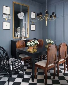 Habitually Chic® Eclectic dining room
