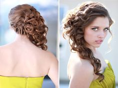 Adore this wedding hair style