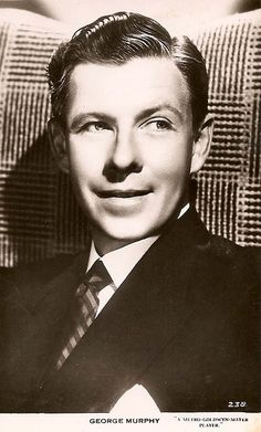 old movie stars photos | ... pictures of the dancer and film (movie) star - George Murphy