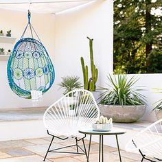 Desert modern patio