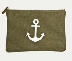 anchor zipper pouch