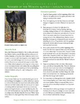 """Summer of the Wolves"" Discussion Guide (Grades 5-9) -- Extend students' learning with these discussion questions and writing prompts for ""Summer of the Wolves"" by Polly Carlson-Voiles. Through reading comprehension and writing activities, students will examine story elements and attitudes about nature and wild animals."