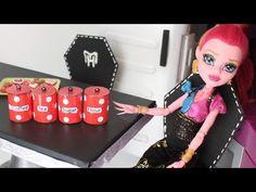Manualidades para muñecas: contenedores de comida para tus muñecas