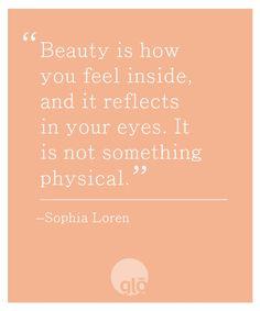 Sophia Loren on Beauty