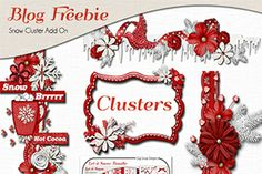 Let it Snow Bundle & Freebie Elements and Project Life Cards