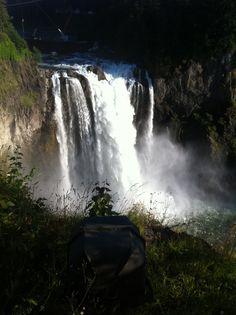 Snoqualmie Falls in WA.