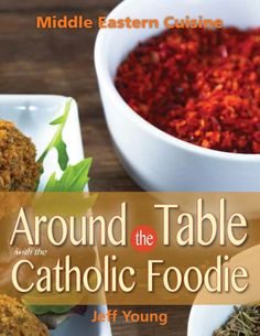 Very exciting news today! I received the artwork for the cover of my #cookbook that will be released November 1st by Liguori Publications! Check it out! #catholicfoodie #foodmeetsfaith #middleeastern