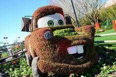 The 2014 Epcot International Flower & Garden Festival http://www.wdwinfo.com/wdwinfo/guides/epcot/events/ep-flower-garden.htm