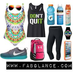 """Fab #Hiking Essentials"" by fabglance on Polyvore"
