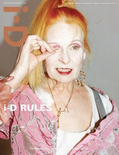I-D magazine for Vivienne Westwood