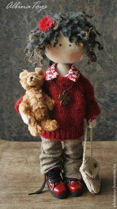 Коллекционные куклы ручной работы. Ярмарка Мастеров - ручная работа Соня. Конфетка. Handmade.