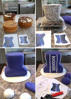 3D Corset Cake by Verusca Walker