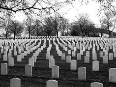 Woods National Cemetary for United States Veterans. Milwaukee Wisconsin