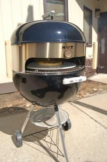 Weber Kettle Pizza - AWESOME! I would love to gift this to the BBQ King in the house.