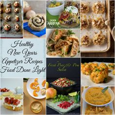 healthy new years appetizers round up www.fooddonelight.com