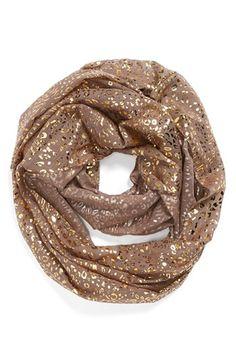 Sparkly infinity scarf