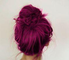 berry hair....Im diggin