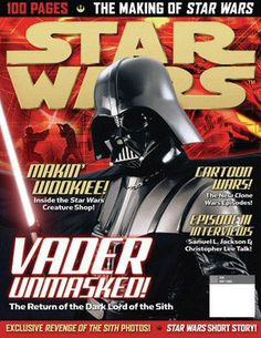 star wars art in books and magazines