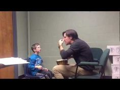 Beautiful video example of music therapy helping a child with special needs tolerate loud sounds.#musictherapy #specialneeds #williamssyndrome