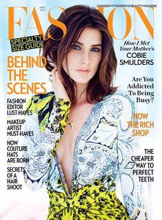 Cobie Smulders, Fashion.  April 2014  www.trendencias.com
