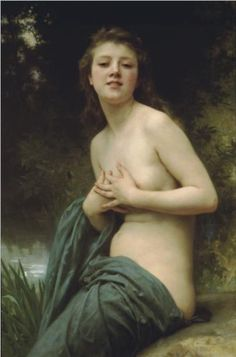Spring Breeze,1895 - William Adolphe Bouguereau