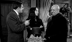 The munsters the addams family on pinterest 146 pins for The addams family living room