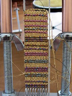 Blog on weaving on Tapestry and Bead Looms