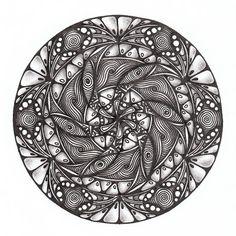 Прикосновение к Миру Творчества...: Zendala #70