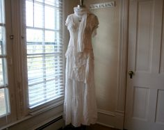 Handmade BreatheAgain Eco Recycled Wedding by BreatheAgainClothing, $465.00