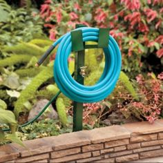 Hose Hanger with Faucet