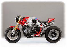 "RocketGarage Cafe Racer: BMW NINE-T "" Marlboro Cafè"""