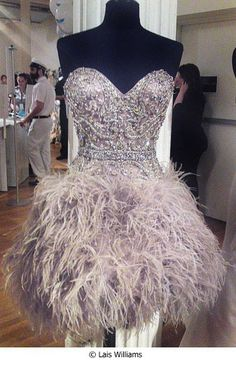 Sparkles and feathers?! Yes Please!