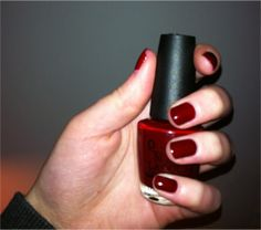opi shade, red nail, nail polish, makeup, blues