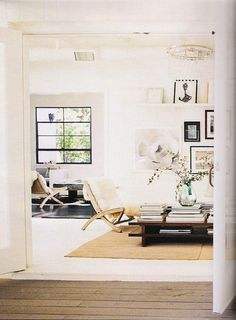 living room - whites