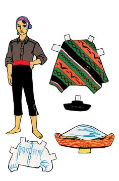 Indians of Peru Paper Dolls