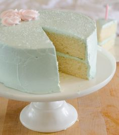 one bowl vanilla cake with quick vanilla frosting @ the cake merchant