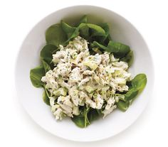 Tarragon Chicken Salad: Give chicken salad a fresh twist with tarragon and lemon; serve over watercress to add a peppery bite.
