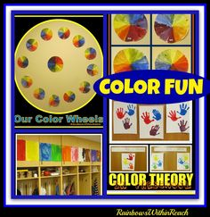 Color Theory Explorations for Children via RainbowsWithinReach
