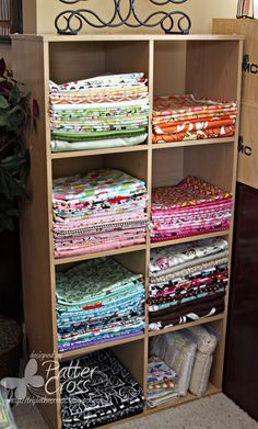 Triple the Scraps: Organizational {Friday} Fabric