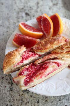 Raspberry Cream Cheese Danish