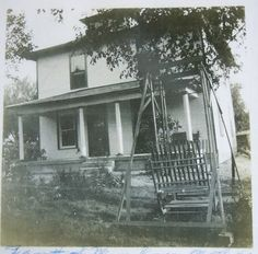 The Vintage Farmhouse  Our house when it was first built in 1900